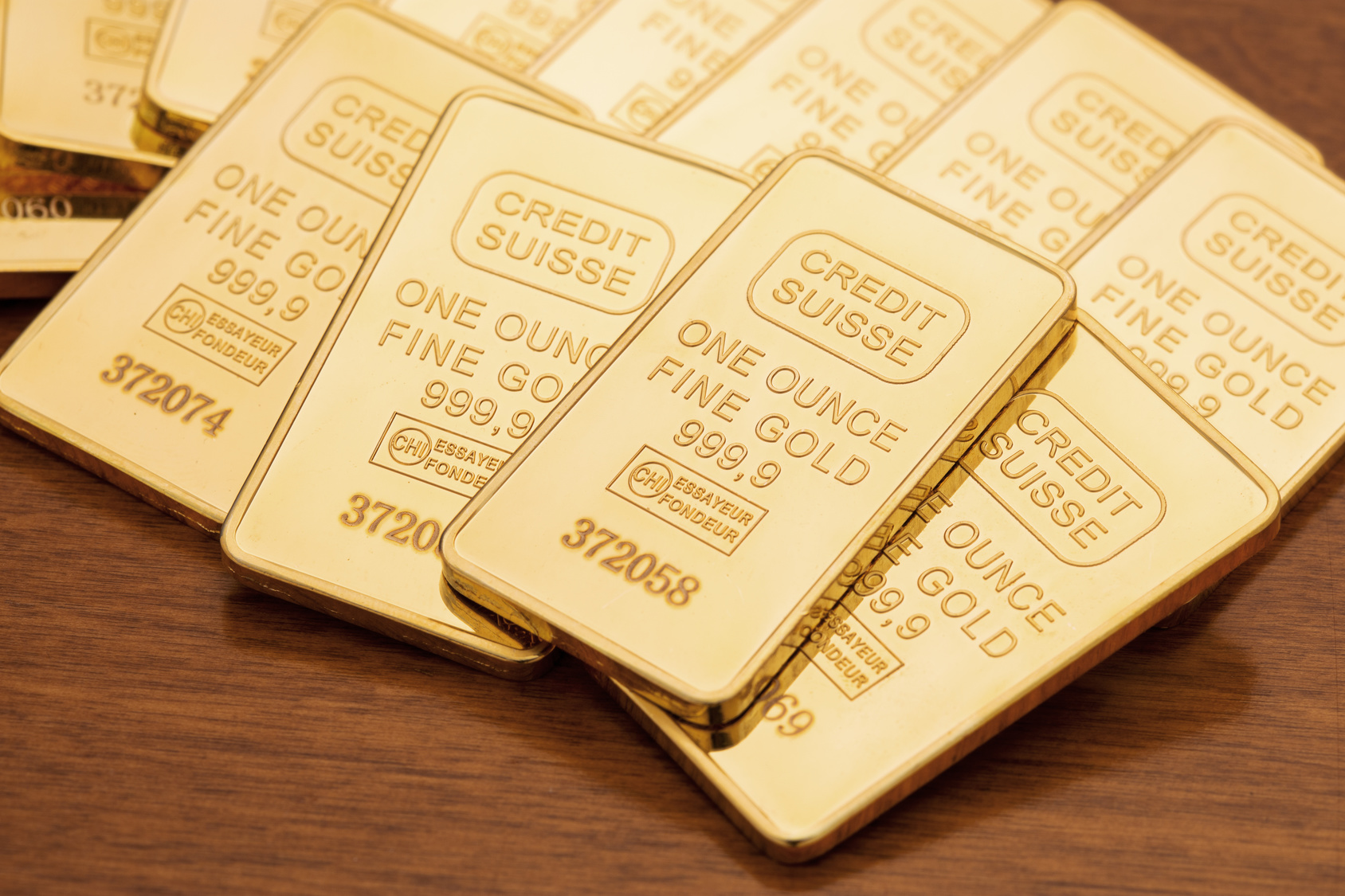 Credit Suisse Gold Bars