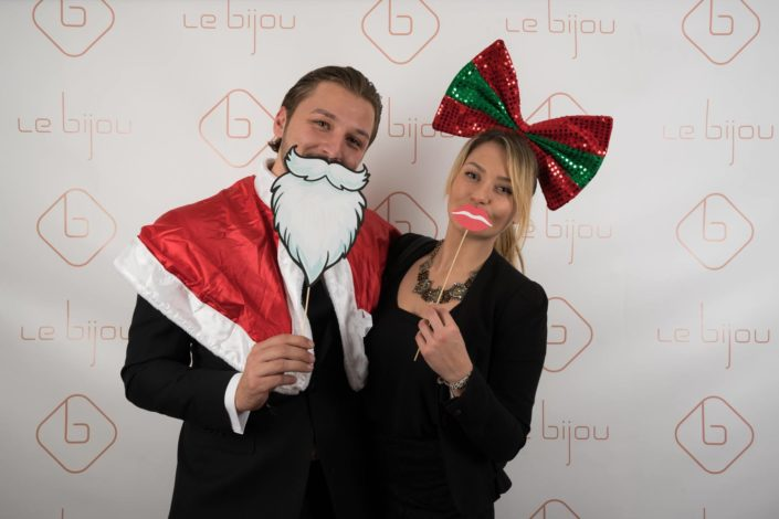 Le Bijou Christmas Party Photo Wall - The Hotel REINVENTED