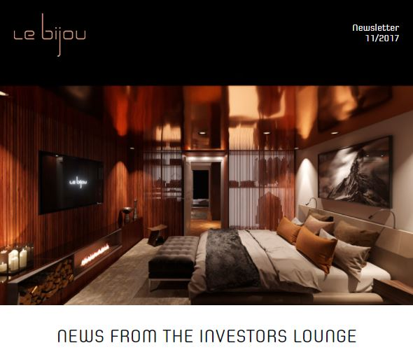Le Bijou Newsletter 2017-10-19