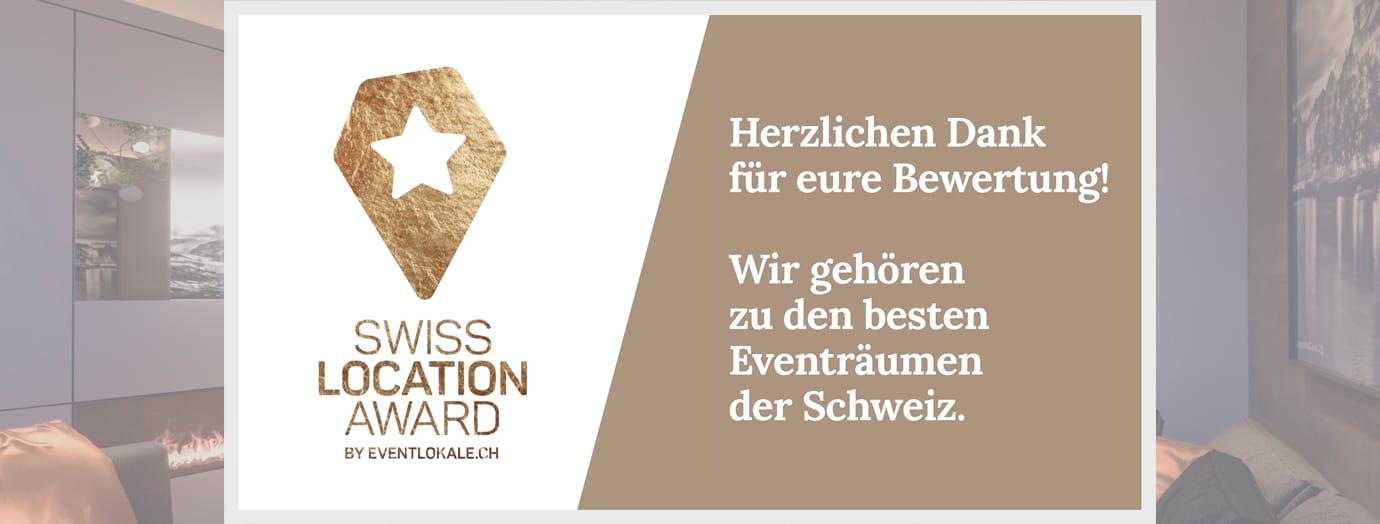 Le Bijou receives award of the Swiss Location Awards 2018