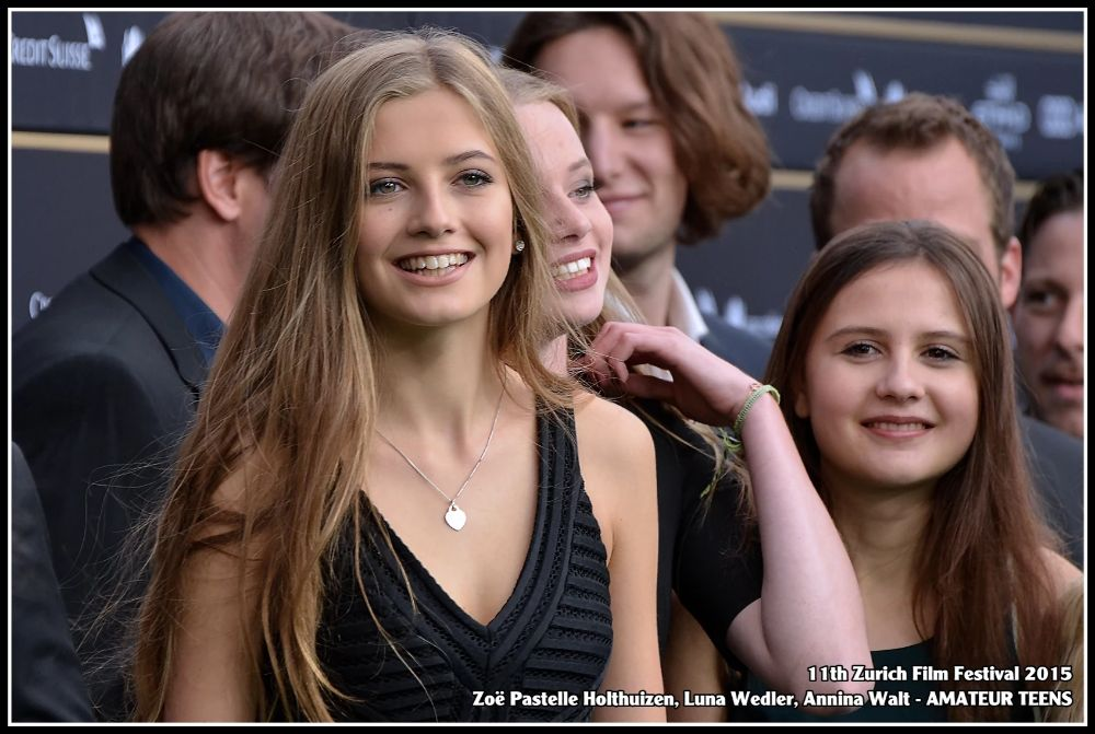 Zoe Pastelle on film festival with Amateur Teens